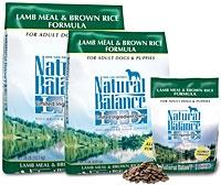 $6 Off Natural Balance Dog Food - 26lb