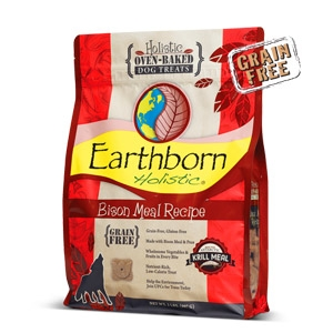 Earthborn Holistic® Bison Meal Recipe Biscuits Dog Treats