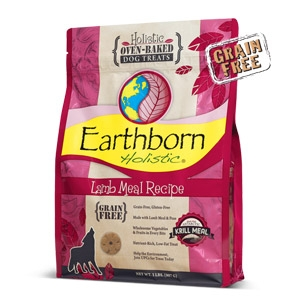Earthborn Holistic® Lamb Meal Recipe Biscuits Dog Treats