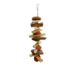 A & E Cage Company Java Wood Munchie Vinie Bird Toy Image