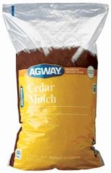 Agway Natural Cedar Mulch 3 Cu' ft' $4.99