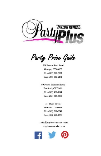 Party Price Guide