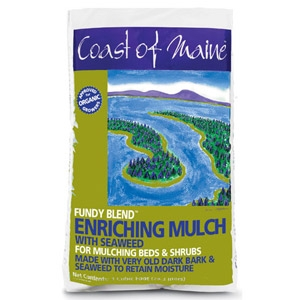 Coast of Maine Fundy Blend Enriching Mulch with Kelp 1 Cubic Foot