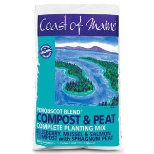 Coast of Maine Penobscot Blend Compost & Peat 1 Cubic Foot