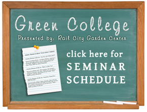 Green College Seminar Schedule