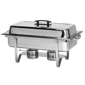 Chafer, 4 or 8 Qt. Stainless Steel