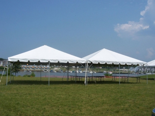 Frame Tents - Installed
