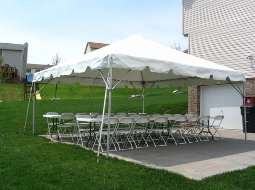 Tent Party Package - Seating for up to 30