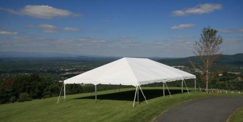 40' Wide Navi-Trac Frame Tent