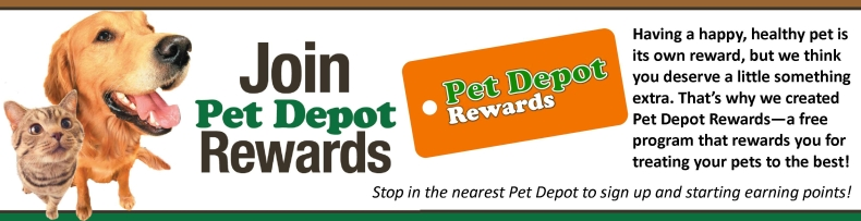 Join Pet Depot Rewards