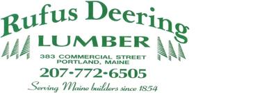 Rufus Deering Lumber Co. Logo
