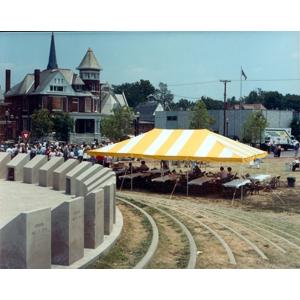 NJ   Anchor 20' x 30' Canopy Pole Tent YELLOW/WHITE - Bridgewater, NJ