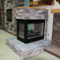 Free-standing Fireplace