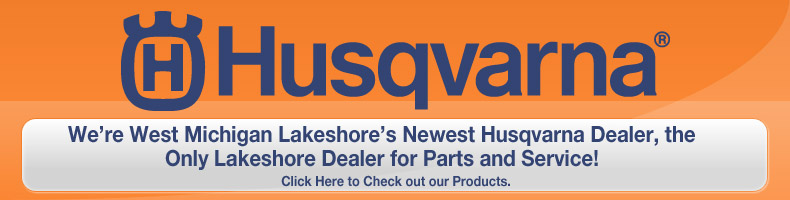 west Michigan Lakeshore husqvarna dealer