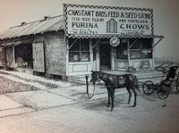chastant store front 1940