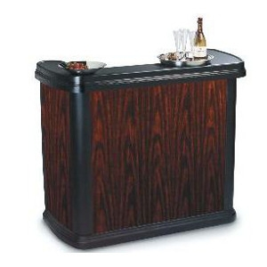 Maximizer Portable Bar, Cherry Wood