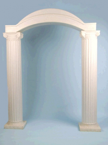 Column Arch Top Empire United Party Rental Of Lawrence