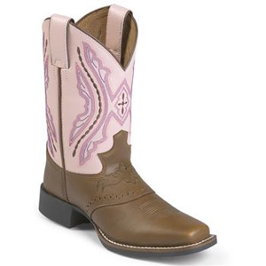 R Amp J Feed Supply Justin Girl S Pink Boots Jackson Tn