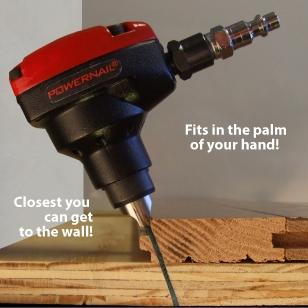 Palm nailer. Power Nailer