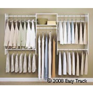 morristown lumber and supply co easy track closet sytems morristown nj. Black Bedroom Furniture Sets. Home Design Ideas