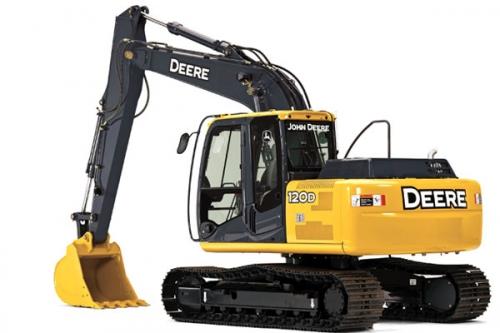 John Deere 120 Excavator Grand Rental Station Dickson