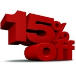 15% OFF Inflatables