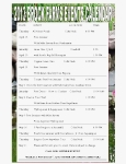 2013 Event Calendar