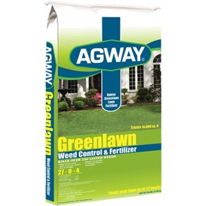 Agway Greenlawn Weed Control Fertilizer 5M $13.99 