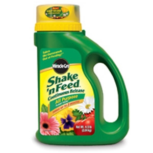 Miracle Gro Shake & Feed 4.5 lb. $8.99