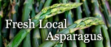 Fresh Local Asparagus