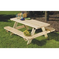 6' Pressure Treated Picnic Table Now $99.00
