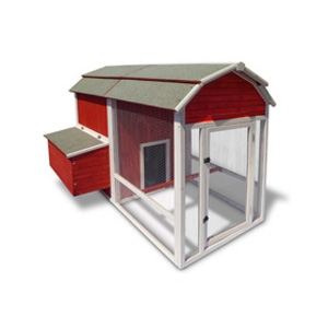 Precision Pet Old Red Barn Chicken Coop