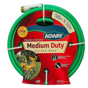 Agway Medium Duty Hose 5/8 in. x 50 ft. now $13.99