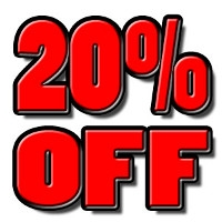 20% off all Fly Sprays