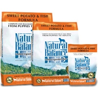 28lb Natural Balance Fish & Sweet Potato $43.99